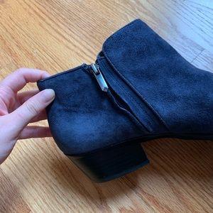 Sam Edelman Shoes - Sam Edelman Navy Blue Petty Booties Size 11